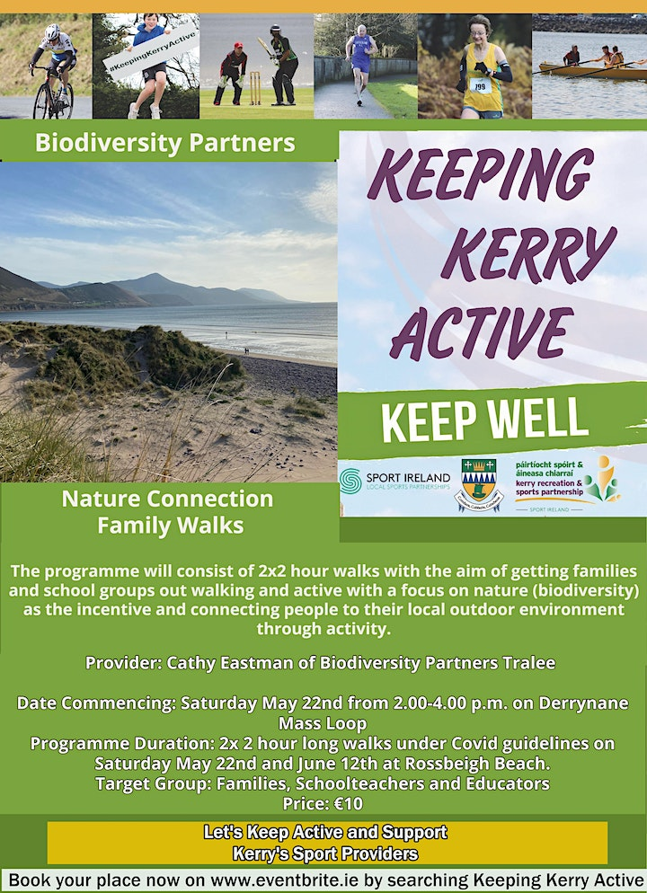 Keeping Kerry Active - Nature Connection Walk (Rossbeigh) image