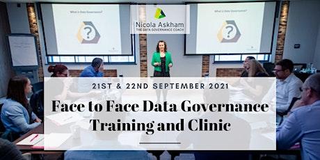 Getting Started in Data Governance - September 2021 tickets