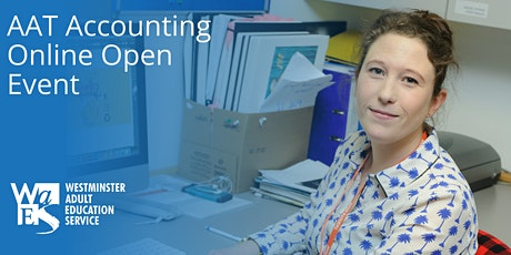 WAES Online Open Event- AAT Accounting Courses tickets