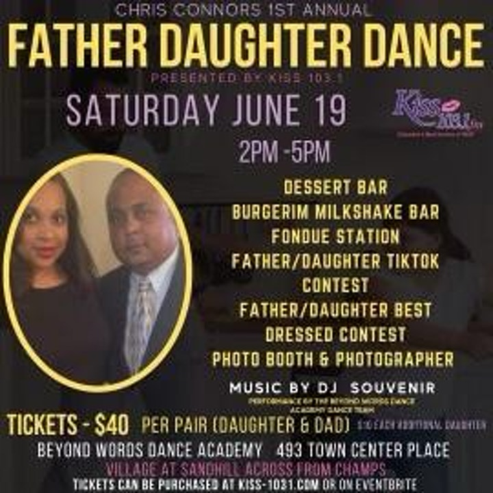 Kiss 103.1 Father/ Daughter Dance image