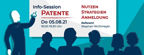 Info-Session: Patente gut schreiben - so geht's Tickets