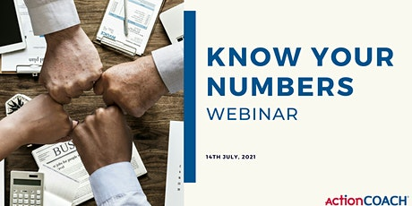 Know Your Numbers Webinar tickets