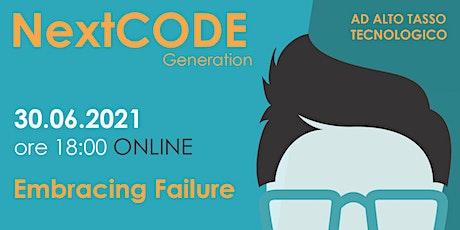 Embracing Failure  -  Online biglietti