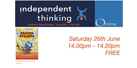 The Independent Thinking Children's Book Festival with Julie McNeill tickets