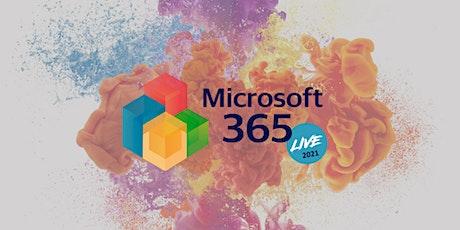 Microsoft 365 Live 2021 boletos