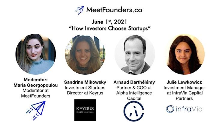 MeetFounders Europe [PARIS June 2021] Venture Capital Conference image