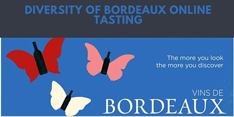 The diversity of Bordeaux online wine tasting tickets