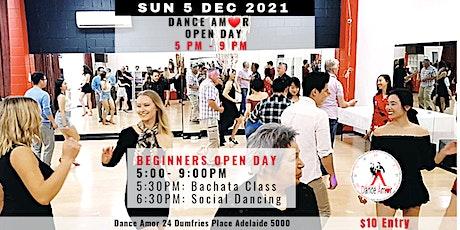 Bachata Class & Social Dancing - Dance Amor Open Day Sun 5 Dec 5 PM tickets