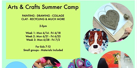 ARTS AND CRAFTS SUMMER CAMP tickets
