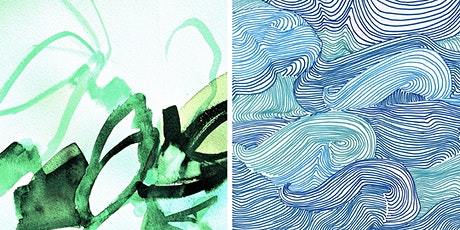 Mindful Mark-Making: Drawing Ripples, Making Waves - Online tickets