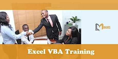 Excel VBA 1 Day Virtual Live Training in Monterrey tickets