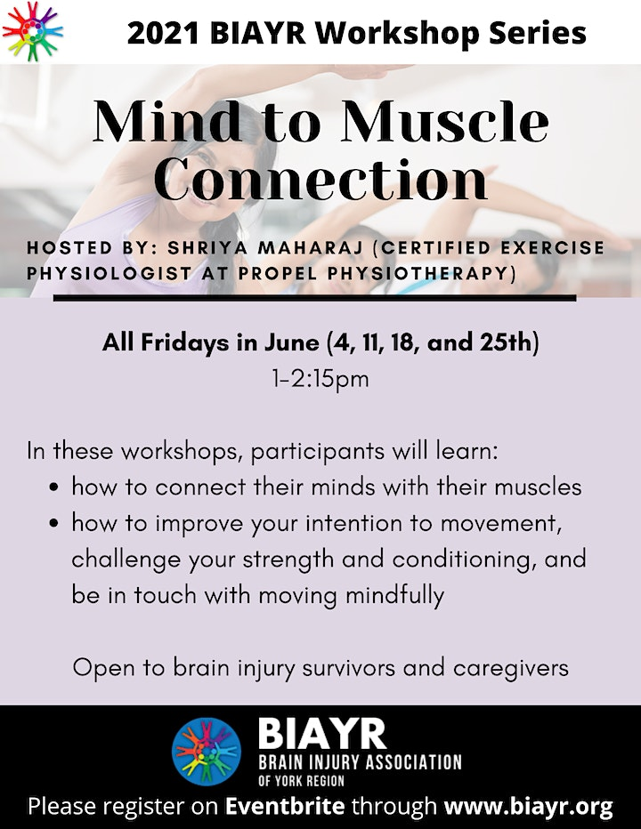 Mind to Muscle Connection - 2021 Brain Injury Awareness Month image