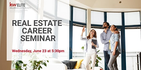 Launch Your Career in Real Estate with Keller Williams Elite tickets