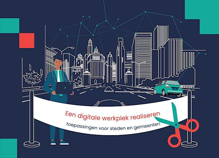 Afbeelding van Een digitale werkplek realiseren: toepassingen voor steden en gemeenten