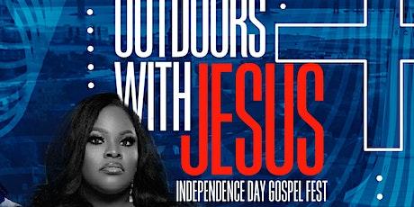 Outdoors with Jesus featuring Tasha Cobbs-Leonard tickets