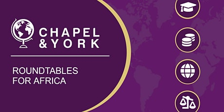 Chapel & York Live Q&A: Educational Fundraising for Africa tickets