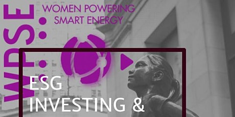 ESG Investing & Sustainability - Panel Discussion and Dinner tickets