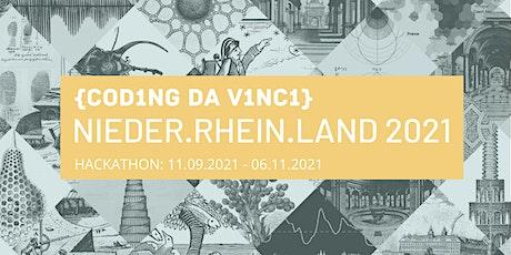 Coding da Vinci Nieder.Rhein.Land 2021 Kultur-Hackathon Tickets