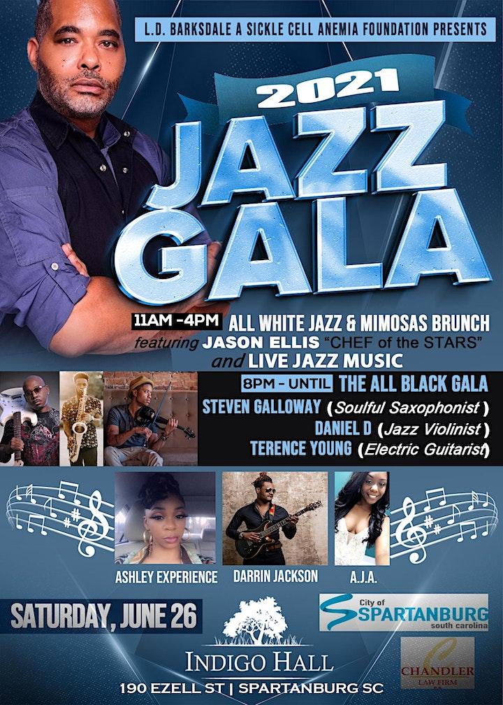 L.D. Barksdale 2021 Jazz Gala image