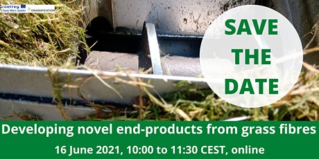 Grassification webinar: Developing Novel End-Products from Grass Fibres tickets