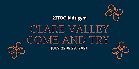 Come and try 22Too kids gym - Clare Valley tickets