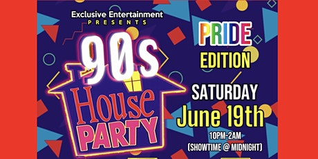90s House Party: PRIDE Edition tickets