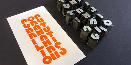 Postcard Letterpress Workshop in Erik Spiekermann's Studio tickets
