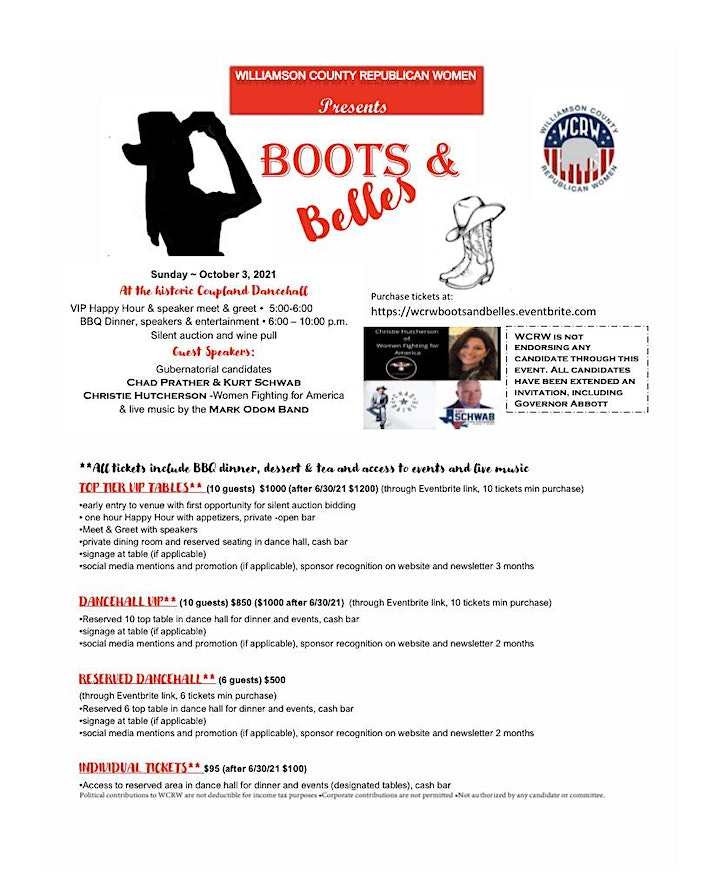 Boots & Belles Annual Fundraiser image