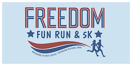 Freedom Fun Run & 5k tickets