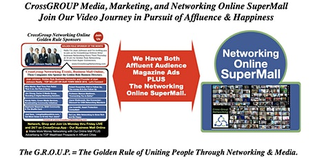 CrossGroup Media Marketing Online SuperMall  for Sales and Business Dev. tickets