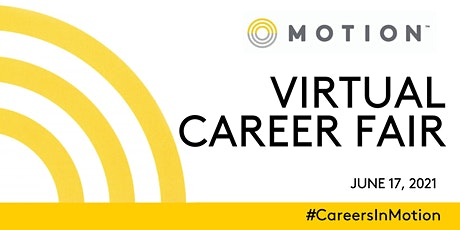 Motion Virtual Career Fair - Ontario Edition tickets