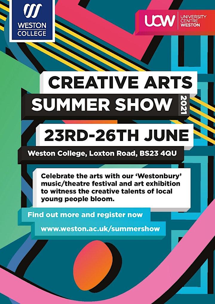 Creative Arts Summer Show - Saturday 26th image
