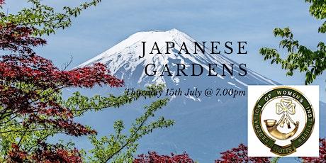 JAPANESE GARDENS tickets