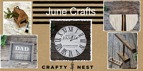 June 18th Public Workshop at The Crafty Nest  - Whitinsville tickets