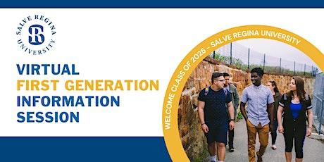 Virtual First Generation Info Session - Salve Regina University tickets
