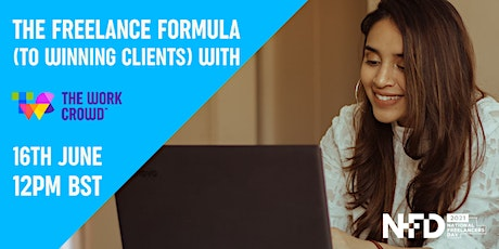 The Freelance Formula (to winning clients) with The Work Crowd tickets