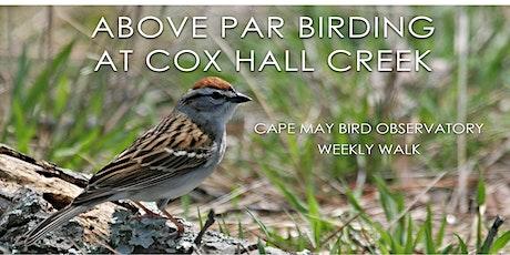 Above Par Birding at Cox Hall Creek tickets