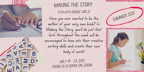 Making the Story for 4th - 6th Grade Girls | Girls Inc. of Long Island tickets