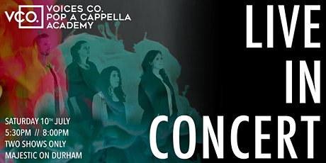 Voices Co. Live In Concert 2021 (8:00pm Show) tickets