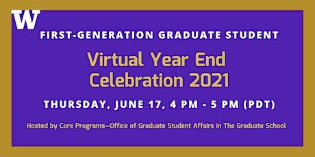 UW Virtual First-Generation Graduate Student Year End Celebration tickets