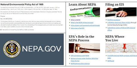 NEPA  Overview & Tribes as Cooperating Agencies tickets