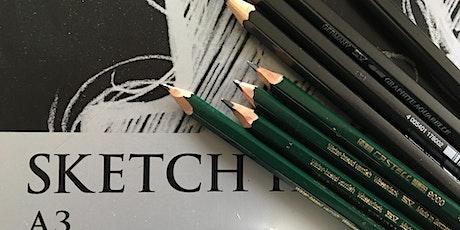 'Focusing in' sketching workshop tickets