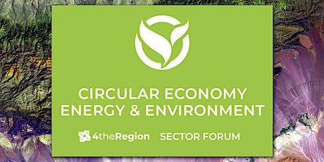 Circular Economy & Green Economy   Sector Forum tickets