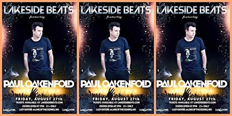Lakeside Beats feat. Paul Oakenfold at Lazy Gators 8/27 tickets
