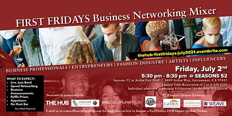 THE HUB's First Friday Business Mixer tickets