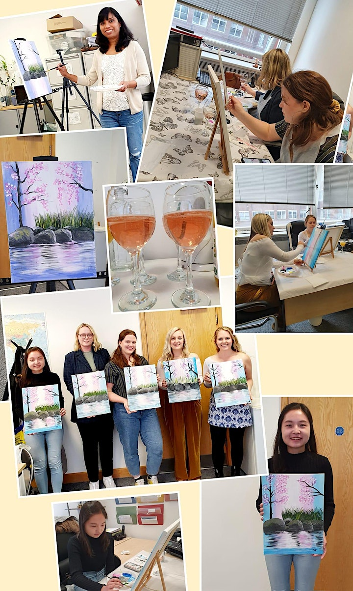 Paint and Sip Class image