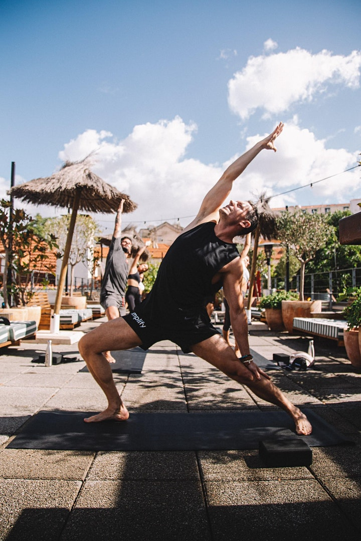 Flow yoga with Miki image