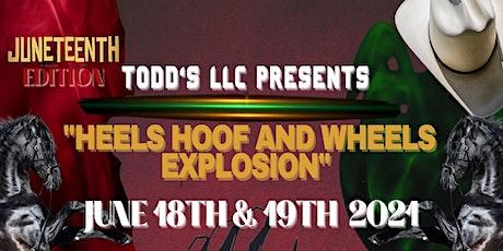 Heels Hoof and Wheels Explosion 2021 tickets