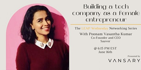 Building a tech company as a female entrepreneur tickets