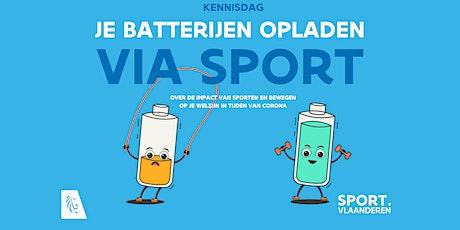 Kennisdag - Je batterijen opladen via sport tickets